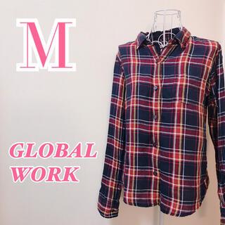 グローバルワーク(GLOBAL WORK)のGLOBAL WORK グローバルワーク チェックシャツ ネルシャツ 秋冬コーデ(シャツ/ブラウス(長袖/七分))