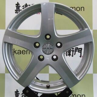 フォルクスワーゲン(Volkswagen)の◆1台限定品◆阿部商会 MAK 5スポーク 4本セット(タイヤ・ホイールセット)