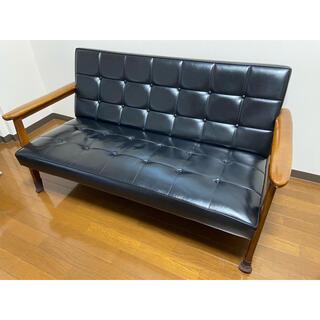 カリモクカグ(カリモク家具)のカリモク60kソファ(二人掛けソファ)