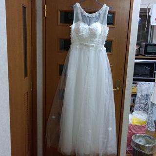 お花柄のウェディングドレス(ウェディングドレス)