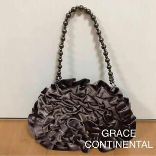 グレースコンチネンタル(GRACE CONTINENTAL)の【 美品  】 グレースコンチネンタル パーティーバッグ ハンドバッグ (ハンドバッグ)