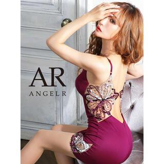 エンジェルアール(AngelR)の21305*スパンコールビジュー/バックシャンドレスpuM(ナイトドレス)