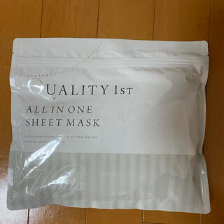 クオリティファースト(QUALITY FIRST)のクオリティファースト オールインワンシートマスク ホワイト(パック/フェイスマスク)