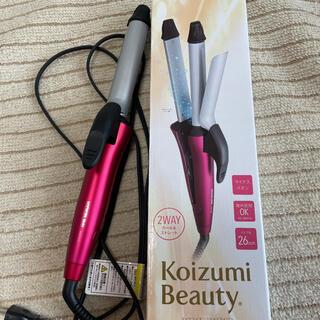 KOIZUMI - j KOIZUMI KHR-7120/P 2way カール&ストレートアイロン