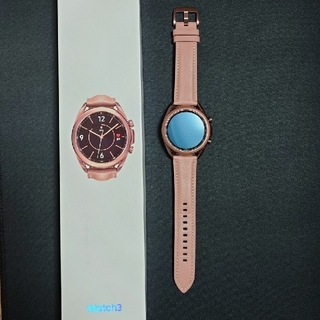 ギャラクシー(Galaxy)のGalaxy  Watch3 SM-R850 41mm(腕時計(デジタル))