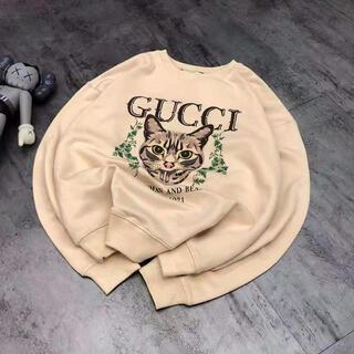グッチ(Gucci)のGUCCI トレーナー スウェット 猫(トレーナー/スウェット)