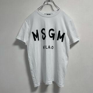 エムエスジイエム(MSGM)のMSGM t-shirt tops(Tシャツ(半袖/袖なし))