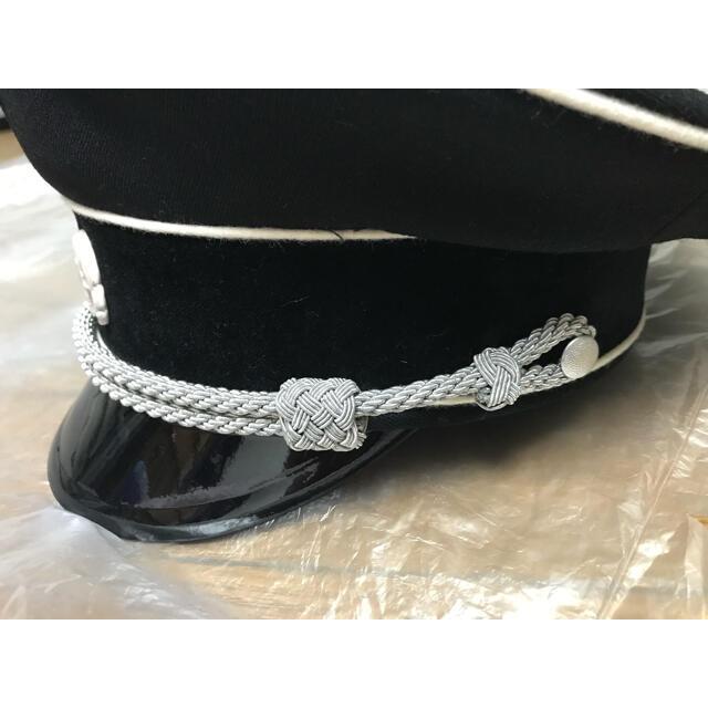 まほてゃん様専用 ドイツ軍 制帽 親衛隊SS将校 黒 レプリカ エンタメ/ホビーのミリタリー(その他)の商品写真