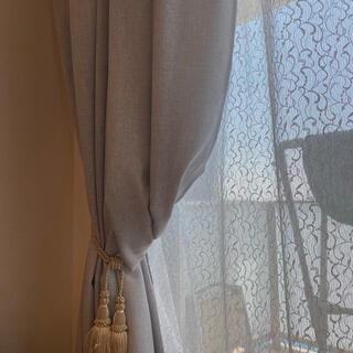 フランフラン(Francfranc)のフランフラン  レースカーテン ショート丈 2枚セット(カーテン)