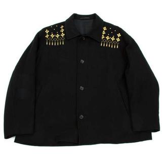 ヨウジヤマモト(Yohji Yamamoto)の【求】yohji yamamoto 92AW 金刺繍ブルゾン コート(ブルゾン)