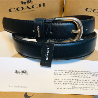 コーチ(COACH)の本日セール COACHコーチ正規品レーザーベルトレディーズ幅25mm(ベルト)