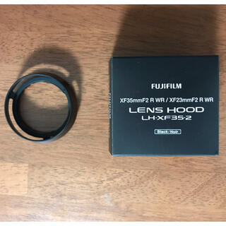 富士フイルム - フジフイルム レンズフード LH-XF35-2 xf23mm xf35mm