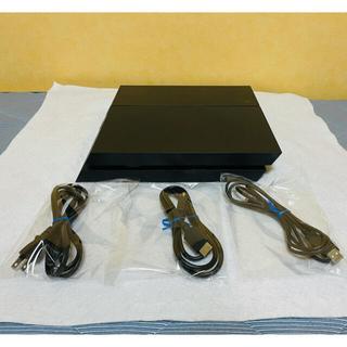 プレイステーション4(PlayStation4)のPS4 プレステ4 本体 CUH-1200B 500G  動作確認済み(家庭用ゲーム機本体)