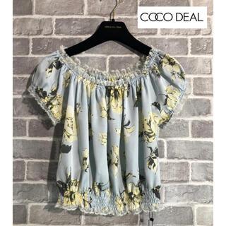 ココディール(COCO DEAL)のCOCO DEAL 新品タグ付き ブラウス(シャツ/ブラウス(半袖/袖なし))