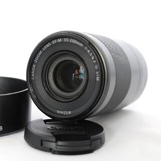 キヤノン(Canon)の【超美品】Canon キャノン EF-S 55-200mm IS STM(レンズ(ズーム))