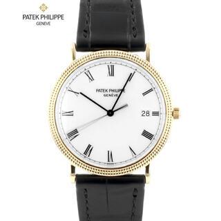 パテックフィリップ(PATEK PHILIPPE)の純正 パテックフィリップ カラトラバ ハイブランド クォーツ 腕時計 メンズ(腕時計(アナログ))