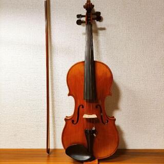 【天然杢良音】スズキ No.520 4/4 バイオリン 1991(ヴァイオリン)
