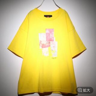 ジーナシス(JEANASIS)のキッズ/ピカチュウコレクション/アートプリントBIGT/アートプリントTシャツ(Tシャツ(半袖/袖なし))