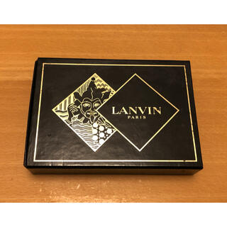 ランバン(LANVIN)のLANVIN W ランバン W ブランドトランプ ブラック×ゴールド(トランプ/UNO)
