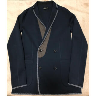 kolor - SALE kolor ウールダブルポンチテーラードジャケット