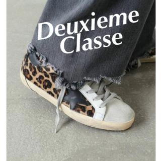 アパルトモンドゥーズィエムクラス(L'Appartement DEUXIEME CLASSE)のドゥーズィエム★ゴールデングースSUPER STAR LEOPARD HORSY(スニーカー)