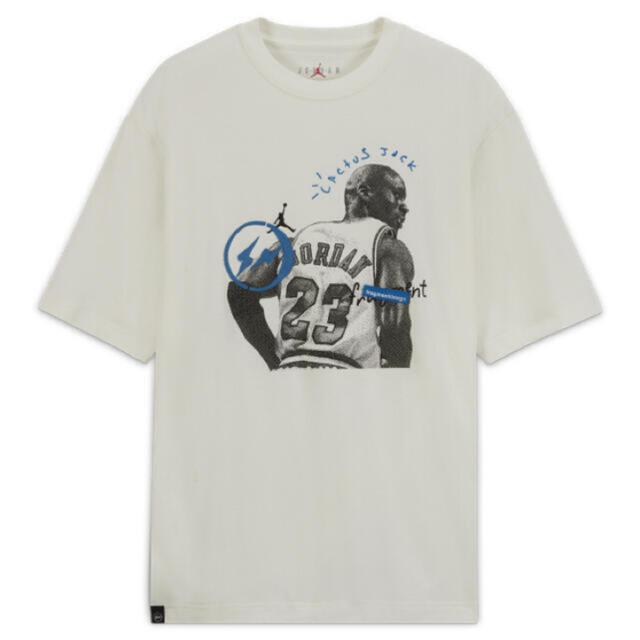 NIKE(ナイキ)のTravis Scott Nike Fragment T-shirt XXL  メンズのトップス(Tシャツ/カットソー(半袖/袖なし))の商品写真