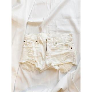 デニムアンドサプライラルフローレン(Denim & Supply Ralph Lauren)のDENIM & SUPPLY ☆ホワイト ショートパンツ(ショートパンツ)