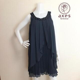 アクシーズファム(axes femme)の◆新品◆アクシーズファム ワンピース(ミディアムドレス)