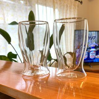 プルミエール(PREMIERE)のペアサーモグラス 耐熱 二重構造 プルミエールアオヤマ(グラス/カップ)