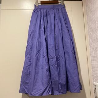 イエナ(IENA)のドーリーシーンの軽やかなスカート 0 7号(ロングスカート)