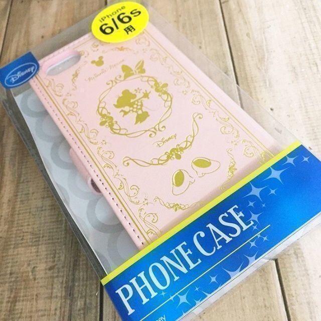ミッキーマウス(ミッキーマウス)のミッキー iPhone6/6s フリップカバー 箔押し スマホ/家電/カメラのスマホアクセサリー(iPhoneケース)の商品写真