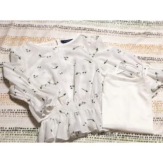 エムズグレイシー(M'S GRACY)の40 お花刺繍ブラウス(シャツ/ブラウス(長袖/七分))