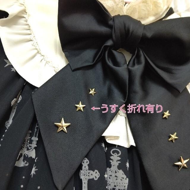 Angelic Pretty(アンジェリックプリティー)のHoly Lantern ワンピース 黒×アイボリー 未使用タグ有 レディースのワンピース(ひざ丈ワンピース)の商品写真