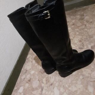 アングリッド(Ungrid)のロングブーツブラックL(ブーツ)