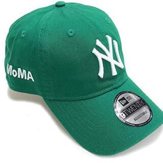 モマ(MOMA)のMOMA NEW ERA NY ヤンキースキャップ ケリーグリーン(キャップ)