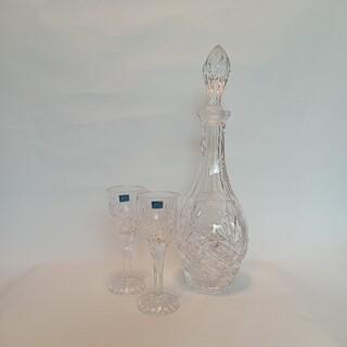 ボヘミア クリスタル(BOHEMIA Cristal)のBOHEMIA Glass クリスタルデキャンタセット(グラス/カップ)