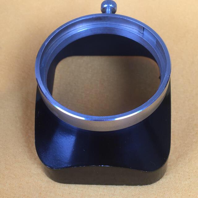 USTMamiya(マミヤ)のMAMIYA ビンテージ 角型メタルフード Φ36mm スマホ/家電/カメラのカメラ(レンズ(単焦点))の商品写真