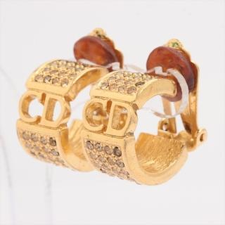 クリスチャンディオール(Christian Dior)のクリスチャンディオール CDロゴ GP×ラインストーン  ゴールド レディ(その他)