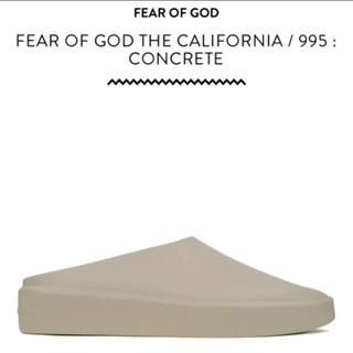 フィアオブゴッド(FEAR OF GOD)のFEAR OF GOD THE CALIFORNIA CONCRETE 40(スリッポン/モカシン)