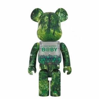 メディコムトイ(MEDICOM TOY)のMY FIRST BE@RBRICK B@BY Green 1000% 千秋(その他)
