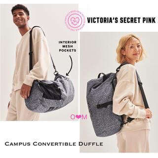 ヴィクトリアズシークレット(Victoria's Secret)の新作♡ ヴィクトリアシークレットPINK  ダッフルバッグ スポーツバッグ(リュック/バックパック)