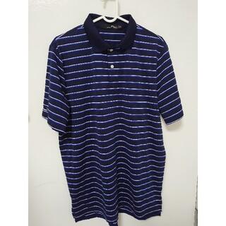 ラルフローレン(Ralph Lauren)のやっち♪様専用 RLX ラルフローレン ポロシャツM ボーダー柄 ゴルフウェア(ウエア)