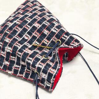 ドゥロワー(Drawer)のCharmantSac リントンツイード シャルマントサック 巾着(ショルダーバッグ)