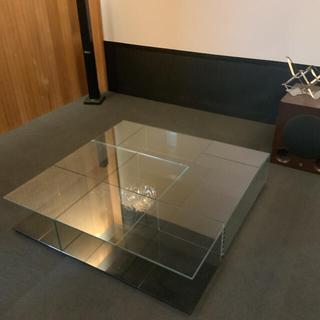 カッシーナ(Cassina)の269 MEX メックスローテーブル カッシーナイクスシー カバー付き 超美品(ローテーブル)
