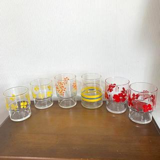 東洋佐々木ガラス - 昭和レトロササキグラスとアデリア6点セットとおまけ