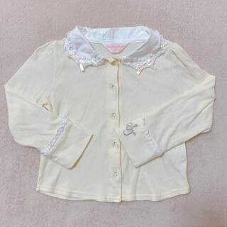 シャーリーテンプル(Shirley Temple)のシャーリーテンプル トップス カットソー インナー レース リボン 100(Tシャツ/カットソー)