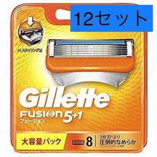 ジレ(gilet)の専用【新品未開封】ジレット フュージョン5+1 替刃8B(8個入*12セット)(メンズシェーバー)