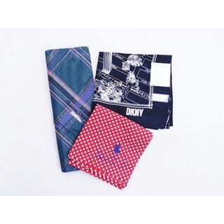 クリスチャンディオール(Christian Dior)のメンズ ハンカチ Dior /DKNY /POLO CLUB  3枚セット (その他)