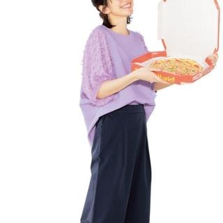 フェリシモ(FELISSIMO)の新品フェリシモ ゆったりトップス(カットソー(半袖/袖なし))