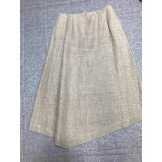 ハイク(HYKE)のhike アシンメトリースカート サイズ2(ひざ丈スカート)